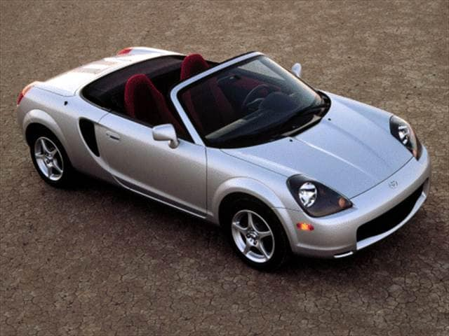 Most Fuel Efficient Convertibles of 2000 - 2000 Toyota MR2