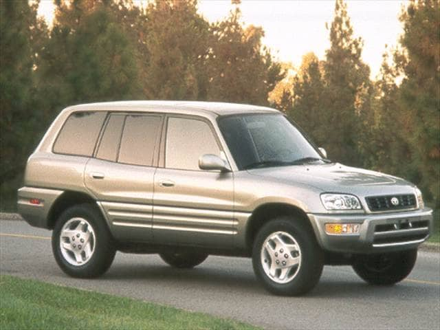 Most Popular Crossovers of 2000 - 2000 Toyota RAV4