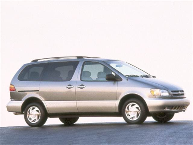 Most Fuel Efficient Vans/Minivans of 2000 - 2000 Toyota Sienna