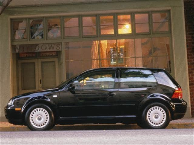 Most Fuel Efficient Coupes of 2000 - 2000 Volkswagen Golf