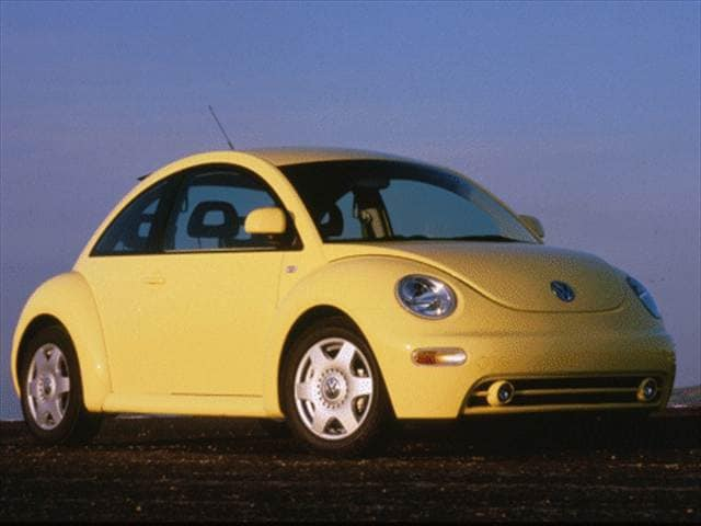 Most Fuel Efficient Coupes of 2000 - 2000 Volkswagen New Beetle