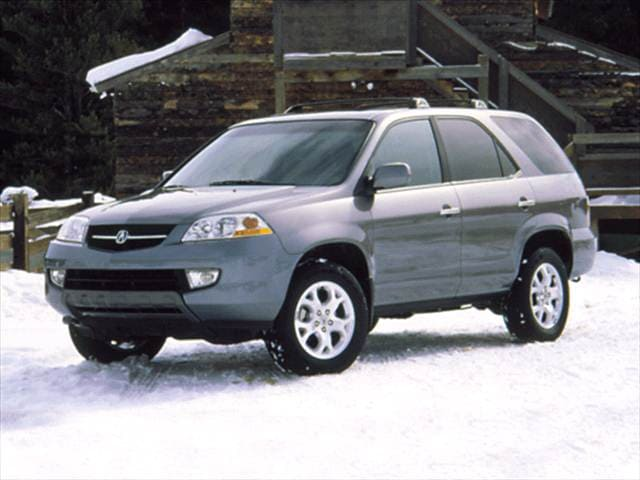 Most Popular Crossovers of 2001 - 2001 Acura MDX
