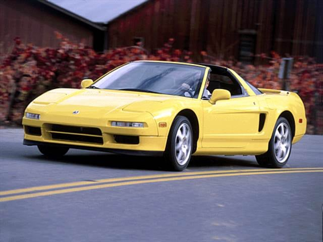 Top Consumer Rated Convertibles of 2001 - 2001 Acura NSX