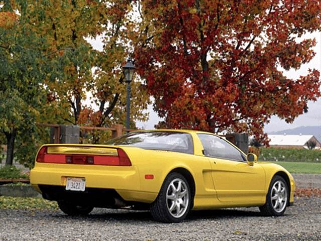 Top Consumer Rated Coupes of 2001 - 2001 Acura NSX