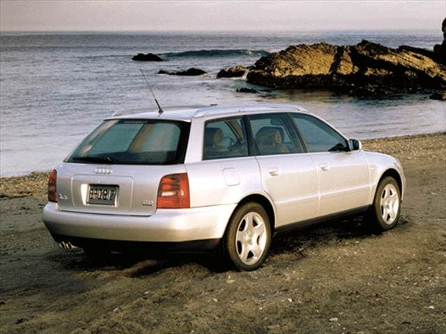 Most Fuel Efficient Wagons of 2001 - 2001 Audi A4
