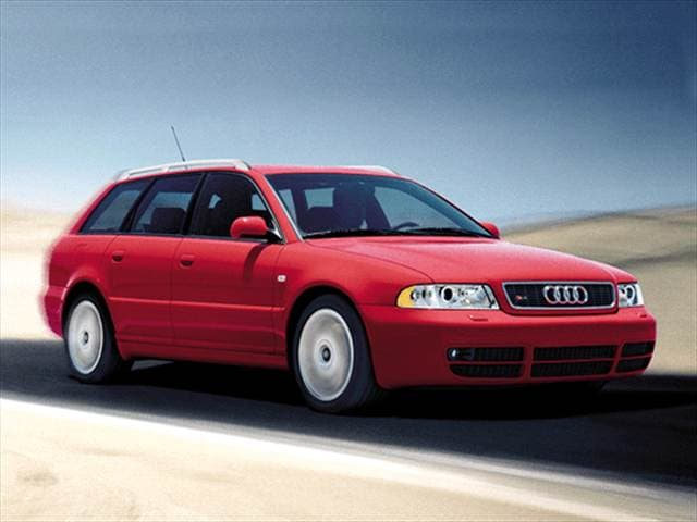 Highest Horsepower Wagons of 2001 - 2001 Audi S4