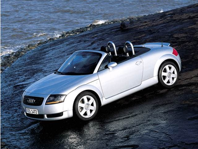 Most Fuel Efficient Convertibles of 2001 - 2001 Audi TT
