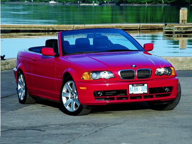 Most Popular Convertibles of 2001 - 2001 BMW 3 Series