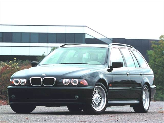 Most Popular Wagons of 2001 - 2001 BMW 5 Series