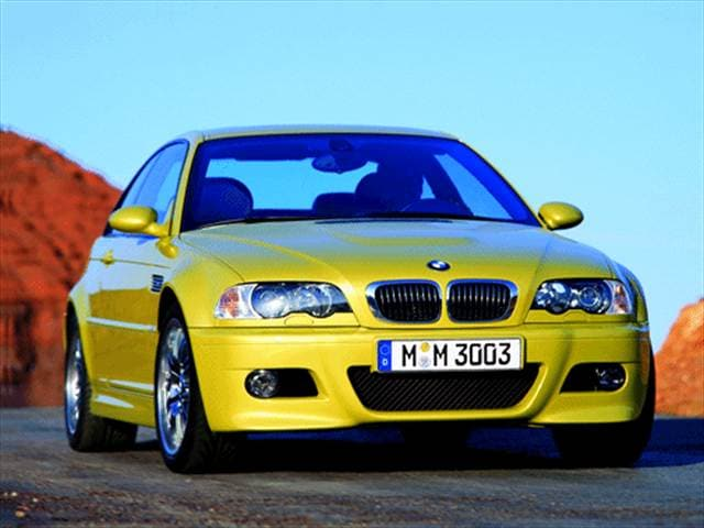 Highest Horsepower Coupes of 2001 - 2001 BMW M3