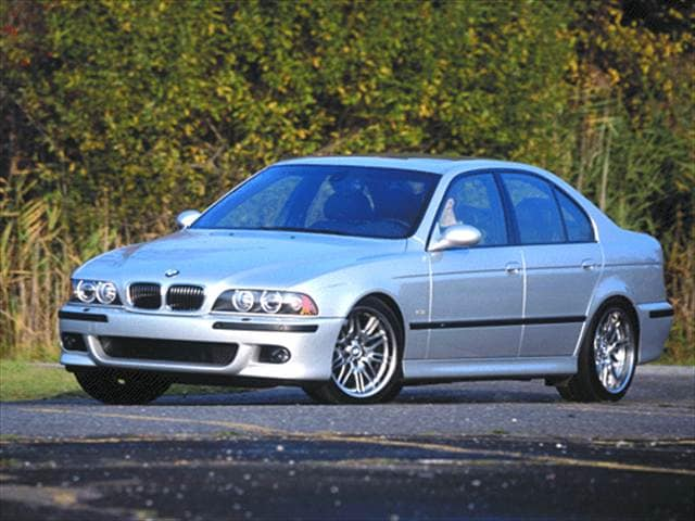 Top Consumer Rated Luxury Vehicles of 2001 - 2001 BMW M5