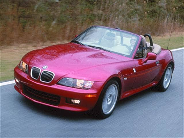 Most Fuel Efficient Convertibles of 2001 - 2001 BMW Z3