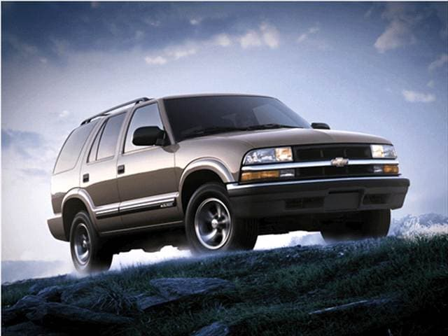Most Popular SUVs of 2001 - 2001 Chevrolet Blazer