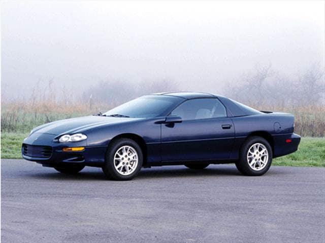 Most Popular Hatchbacks of 2001 - 2001 Chevrolet Camaro