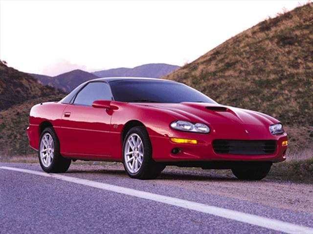 Highest Horsepower Hatchbacks of 2001 - 2001 Chevrolet Camaro