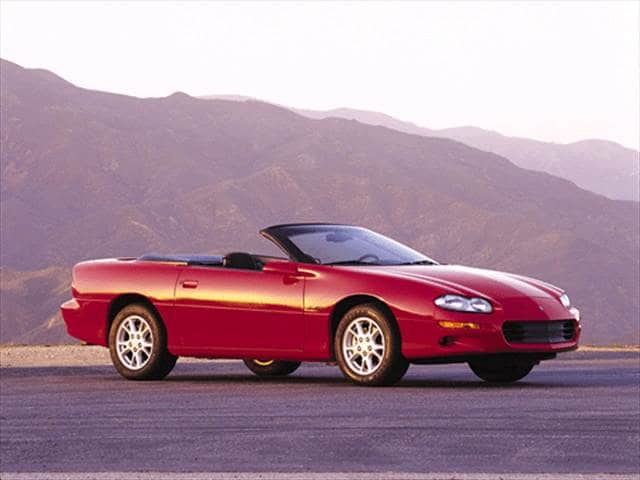 Highest Horsepower Convertibles of 2001 - 2001 Chevrolet Camaro