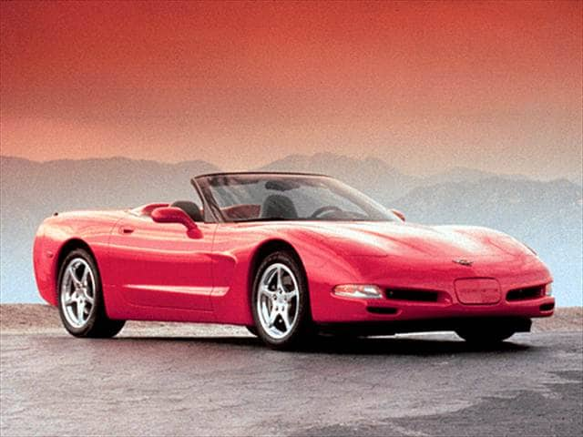 Most Popular Convertibles of 2001 - 2001 Chevrolet Corvette