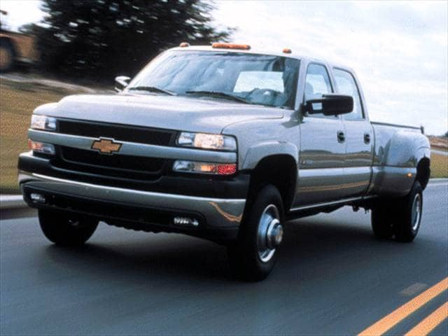 Top Consumer Rated Trucks of 2001 - 2001 Chevrolet Silverado 3500 Crew Cab