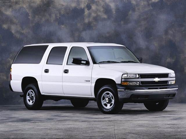 Highest Horsepower SUVs of 2001 - 2001 Chevrolet Suburban 2500