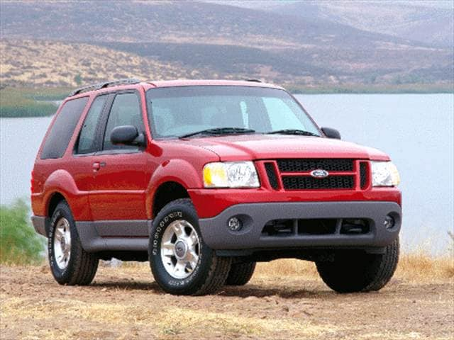 Used 2001 Ford Explorer Sport Sport Utility 2d Pricing