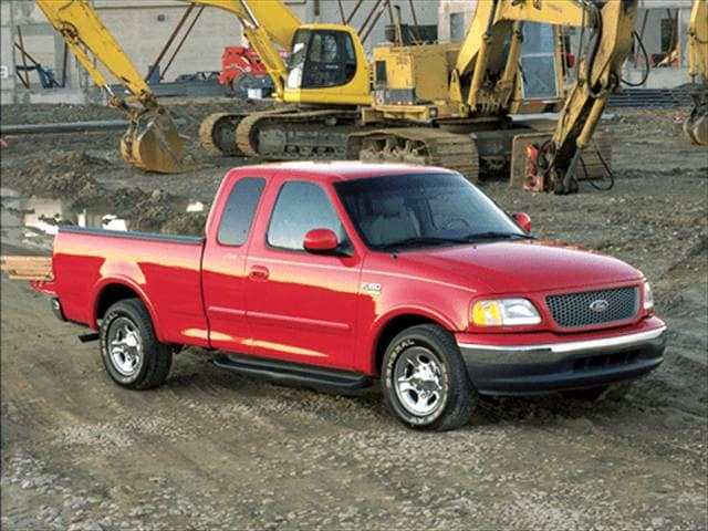 Top Consumer Rated Trucks of 2001 - 2001 Ford F150 Super Cab