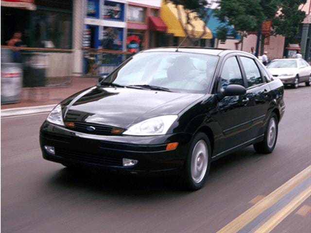 Most Fuel Efficient Sedans of 2001 - 2001 Ford Focus