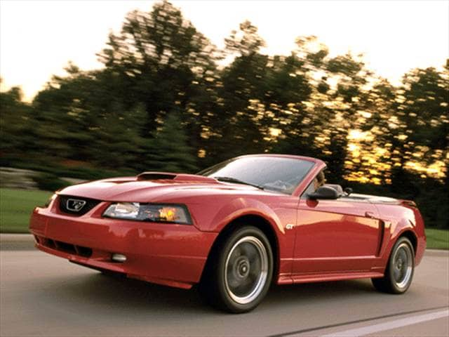 Most Popular Convertibles of 2001 - 2001 Ford Mustang