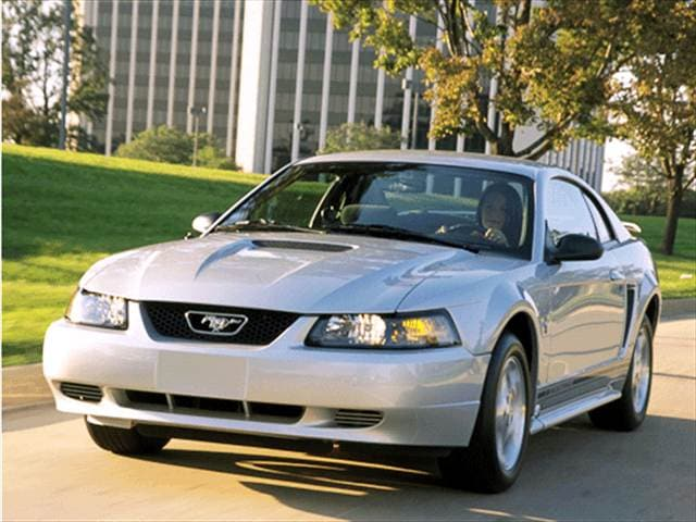 Used 2001 Ford Mustang Deluxe Coupe 2d Pricing