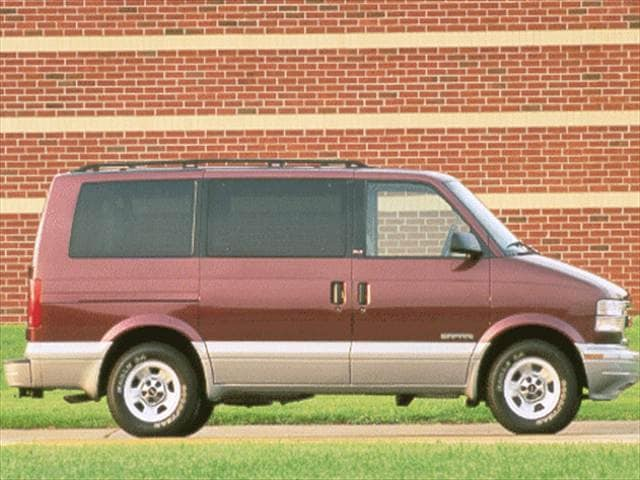 Top Consumer Rated Vans/Minivans of 2001 - 2001 GMC Safari Cargo