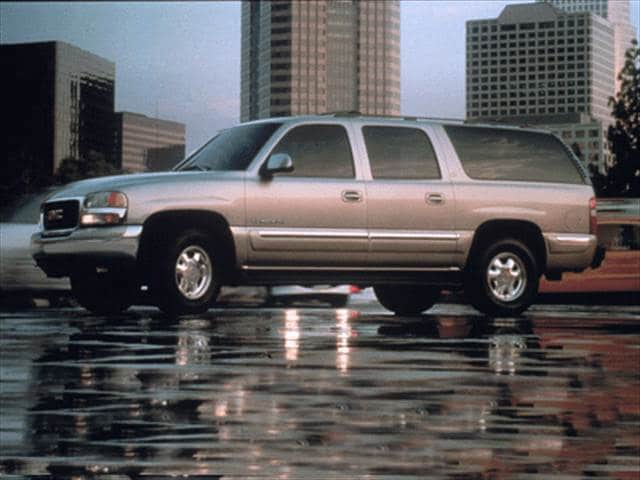 Top Consumer Rated SUVs of 2001 - 2001 GMC Yukon XL 1500