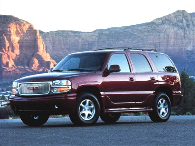 Highest Horsepower SUVs of 2001 - 2001 GMC Yukon