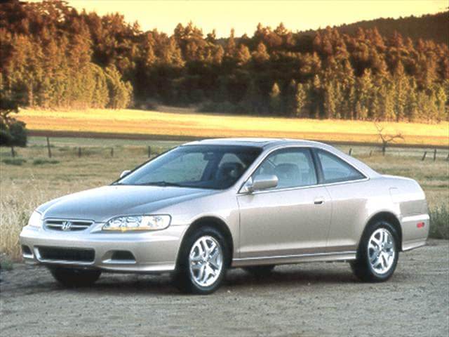 Most Popular Coupes of 2001 - 2001 Honda Accord