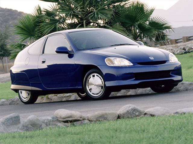 Most Fuel Efficient Coupes of 2001 - 2001 Honda Insight