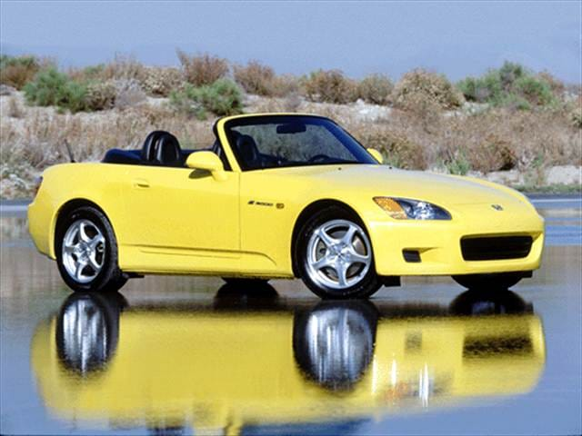 Most Popular Convertibles of 2001 - 2001 Honda S2000
