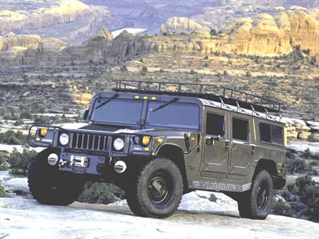 Top Consumer Rated Wagons of 2001 - 2001 HUMMER H1