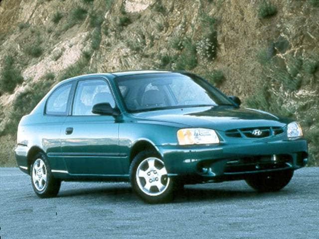 Most Fuel Efficient Coupes of 2001 - 2001 Hyundai Accent