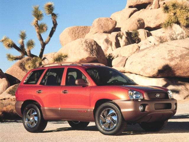 Top Consumer Rated Crossovers of 2001 - 2001 Hyundai Santa Fe