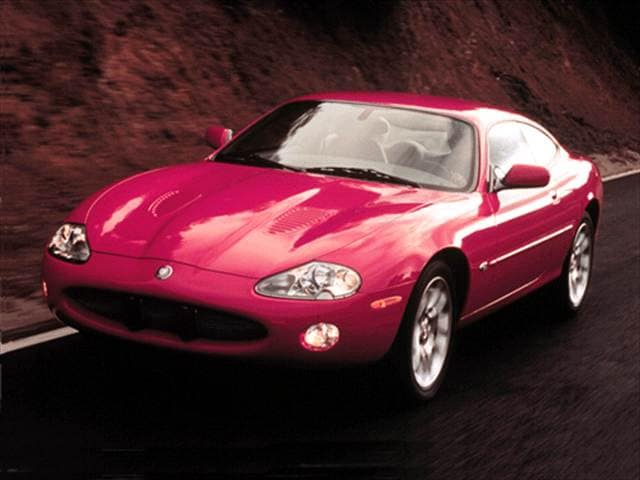 Highest Horsepower Coupes of 2001 - 2001 Jaguar XK