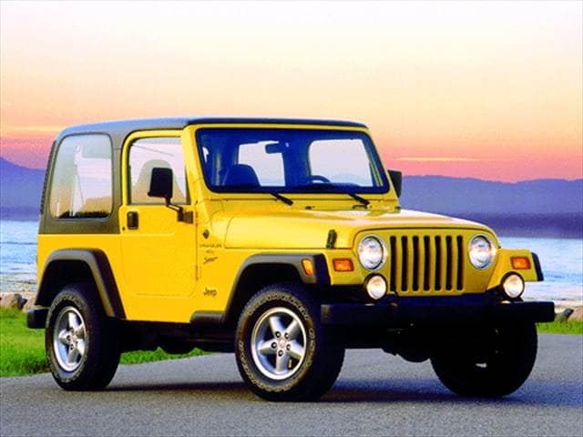 Most Fuel Efficient SUVs of 2001 - 2001 Jeep Wrangler