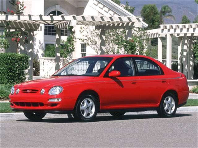 Most Fuel Efficient Hatchbacks of 2001 - 2001 Kia Spectra