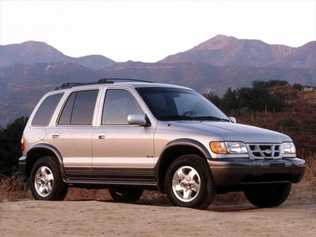 Most Fuel Efficient Crossovers of 2001 - 2001 Kia Sportage