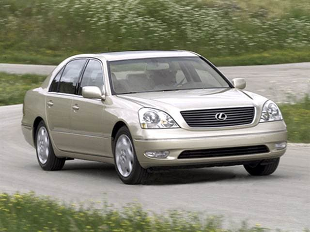Top Consumer Rated Luxury Vehicles of 2001 - 2001 Lexus LS