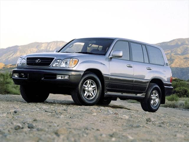 Top Consumer Rated Luxury Vehicles of 2001 - 2001 Lexus LX