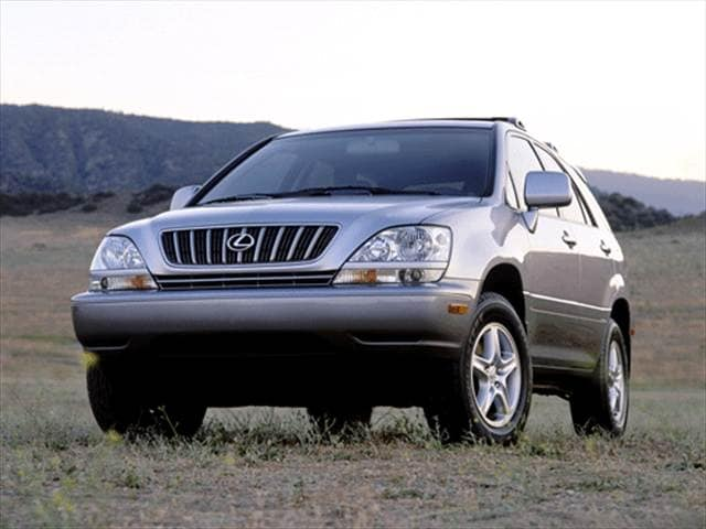 Most Fuel Efficient SUVs of 2001 - 2001 Lexus RX