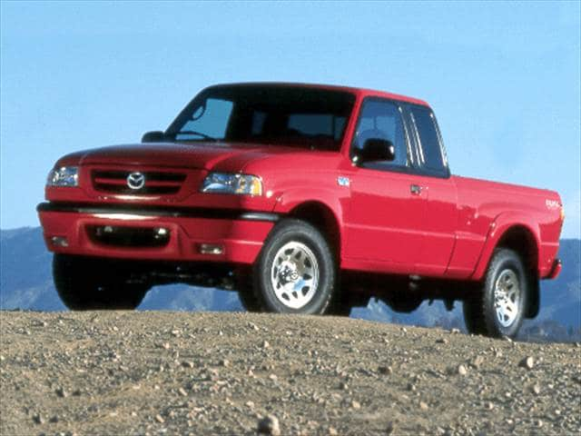 Most Fuel Efficient Trucks of 2001 - 2001 Mazda B-Series Cab Plus