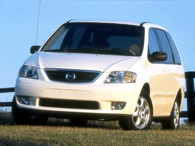 Most Fuel Efficient Vans/Minivans of 2001 - 2001 Mazda MPV