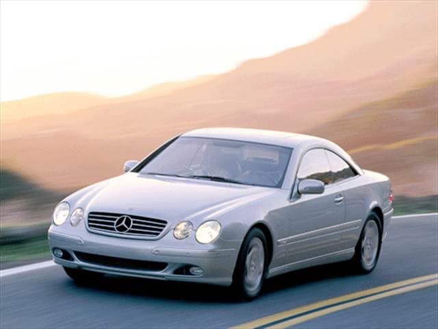 Highest Horsepower Luxury Vehicles of 2001 - 2001 Mercedes-Benz CL-Class