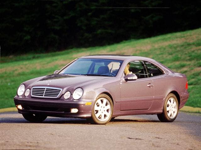 Most Fuel Efficient Luxury Vehicles of 2001 - 2001 Mercedes-Benz CLK-Class