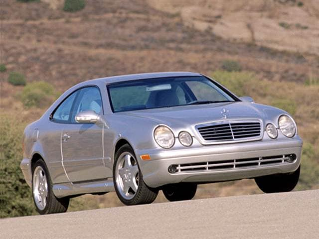 2001 Mercedes Benz Clk Cl 430 Coupe 2d Used Car Prices Kelley Blue Book