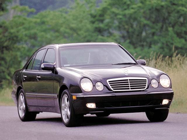 Most Fuel Efficient Luxury Vehicles of 2001 - 2001 Mercedes-Benz E-Class